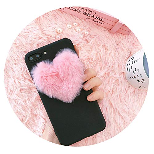 (3D Love Plush Soft case for iPhone 5 S 6 6s 7 8 Plus 10 X XS XR Max Cover for Samsung Galaxy S6 S7 Edge S8 S9 Note 9 S10 Toque,A,for iPhone 7)