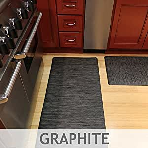 Amazon Com Luxe Therapeutic Floor Mats Woven Vinyl Is