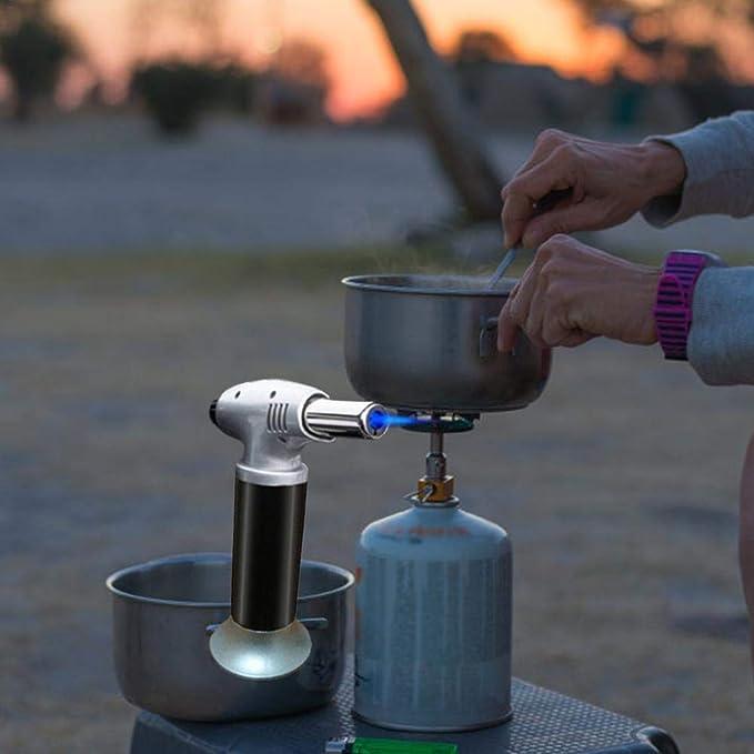 welltobuy Mechero Bunsen Grabadora de Gas Camping Gas soplete ...