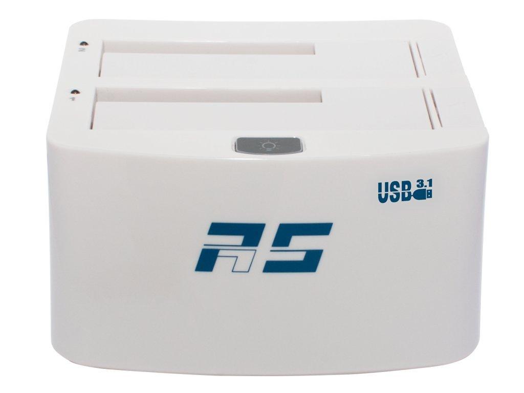 HighPoint RocketStor 3122B Dual-Dedicated USB 3.1 Storage Drive Dock