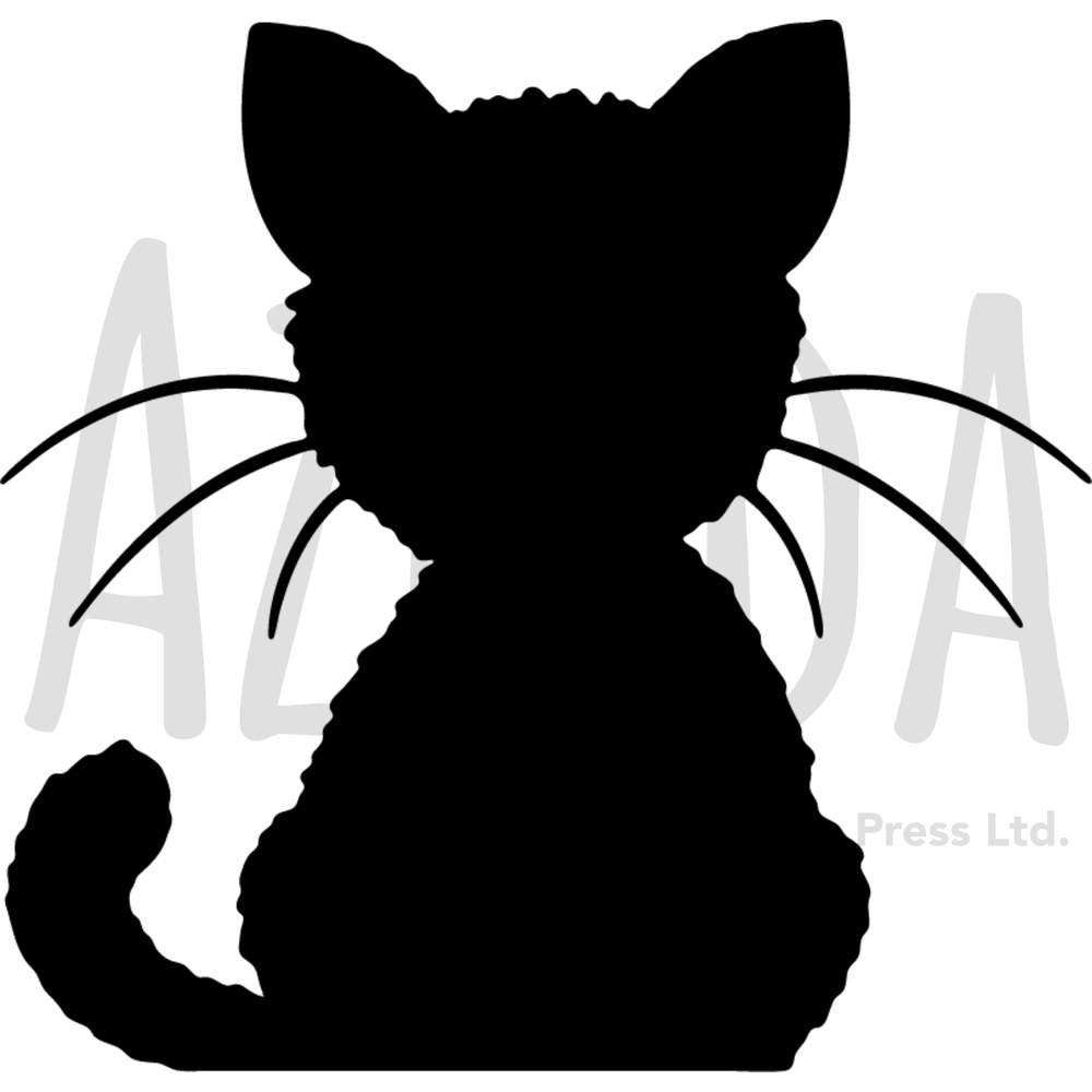 Azeeda A3 'Black Cat' Wall Stencil / Template (WS00024914)