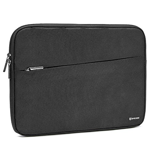 2017 Surface Book 2 13.5 Sleeve, Evecase Reinforced Shockproof Laptop Chromebook Bag Case with Accessory Pocket for Microsoft Surface Book 2 2017 13.5inch PixelSense Display - Black
