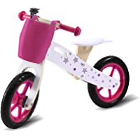 """Bo Peep Kids Sport Balance Bike 12"""" Toddlers Age 2-6years Girls Boys Ride on Toy Bicycle Gifts Red"""