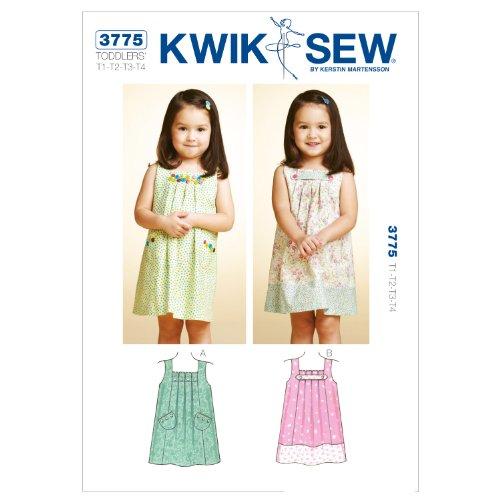 Mccall Pattern Kwik Sew K3775 Dresses Sewing Pattern, Siz...