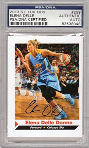 Elena Delle Donne RC 2013 Sports Illustrated SI Kids Signed AUTOGRAPH - PSA/DNA Certified - Autographed Sports Magazines