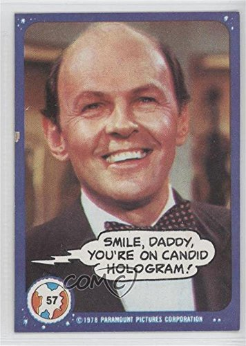 (Smile, Daddy, You're on Candid Hologram! (Trading Card) 1978 Topps Mork & Mindy - [Base] #57)