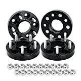 5x110 Wheel Spacers for Jeep Renegade 2015-2018 2wd 4wd, Dynofit 1''(25mm) Forged M12x1.5 65.1mm Hub Centric Wheel Spacer for 2015 2016 2017 2018 Jeep Renegade,Chevy Saturn Pontiac