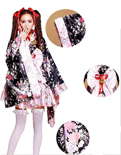 Anime Cosplay Lolita Halloween Fancy Dress Japanese Kimon...