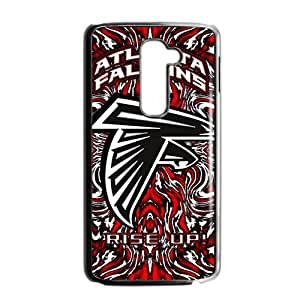 NFL Atlanta Falcons Black Phone Case For LG G2