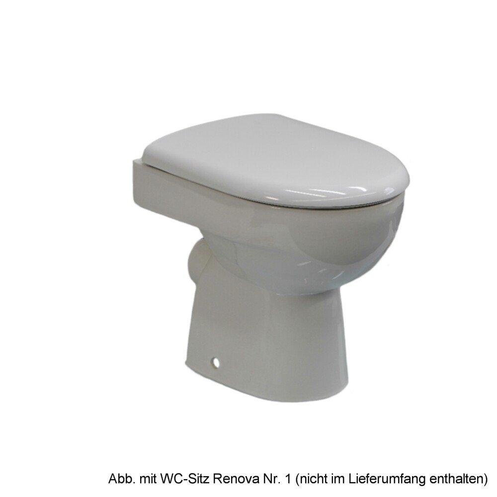 Keramag stand tiefspül wc renova nr 1 abgang waagerecht weiß 213010000 amazon de baumarkt