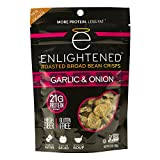 Enlightened Roasted Broad Bean Crisps, Garlic and Onion, 18 Oz