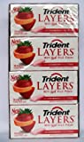 Trident Layers with Real Fruit Flavor, Wild Strawberry and Tangy Citrus