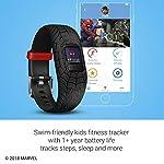 Orologio SpiderMan Marvel Nero - Garmin Vivofit JR 2 Activity Tracker per Bambini con Cinturino Regolabile - 4 anni