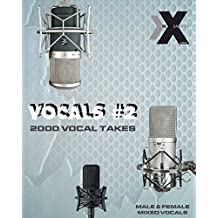 VOCALS PACK #2 - Male & Female Mixed Studio Vocal Acapellas - WAV PACK Samples