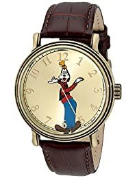 Disney Men's W001845 Goofy Analog Display Quartz Brown Watch