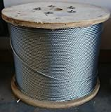 3/8'' Galvanized Aircraft Cable (700 feet)