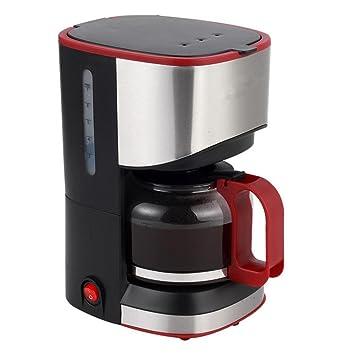 ZWZT máquinas de café, cafetera de goteo automático doméstica mini-tipo de té máquina de oficina pequeña olla de café: Amazon.es: Hogar