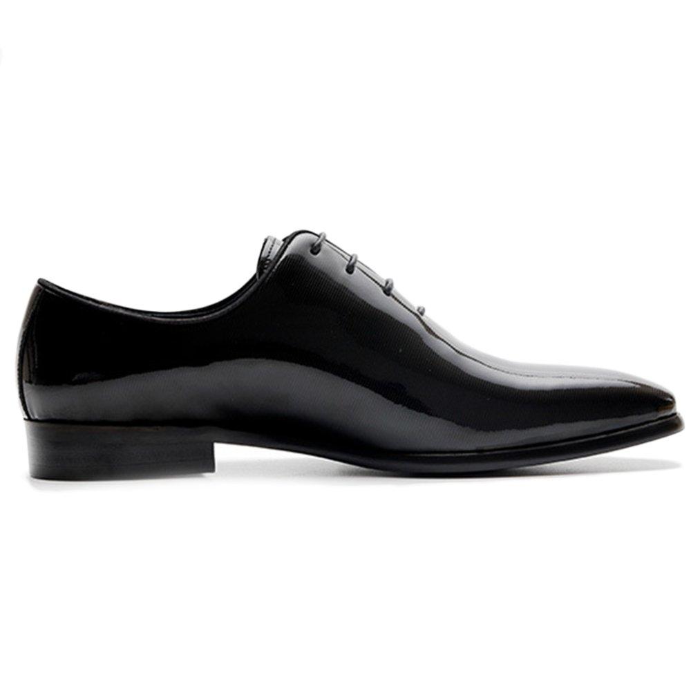 Sommer Sommer Sommer Spitz Geschäft Leder Schuhe Mode Kleid Casual Lackleder Herrenschuhe Für Party Arbeit schwarz 79ebe5