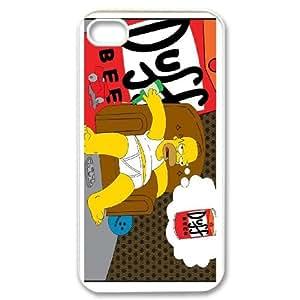 iPhone 4,4S Phone Case Homer Simpson's CE404275