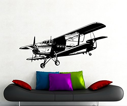 Compare Price To Vintage Airplane Wall Decals Tragerlaw Biz