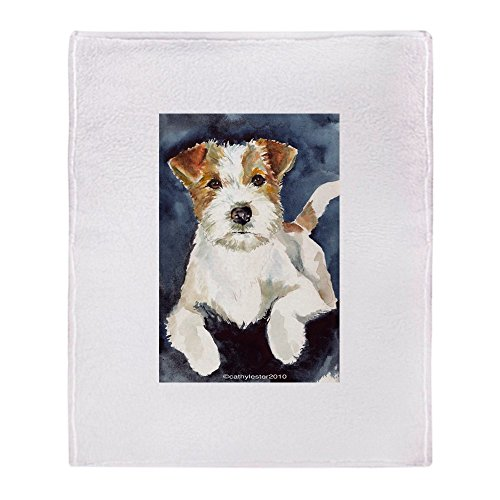 CafePress Jack Russell Terrier 2 Soft Fleece Throw Blanket, 50