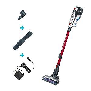 BLACK+DECKER Cordless Stick Vacuum, 3-in-1 Cordless, Red (HFEK620J)