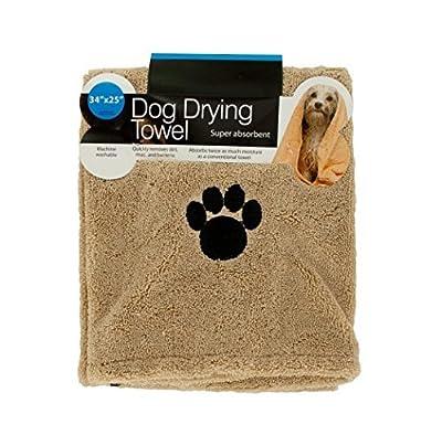Kole KI-OF663 Super Absorbent Dog Drying Towel, Medium