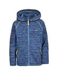 Trespass Childrens Boys Ernie Full Zip Hooded Fleece Jacket