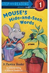 Mouse's Hide-and-Seek Words (Step into Reading) Paperback