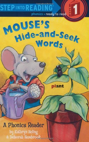Download Mouse's Hide-and-Seek Words (Step into Reading) pdf epub