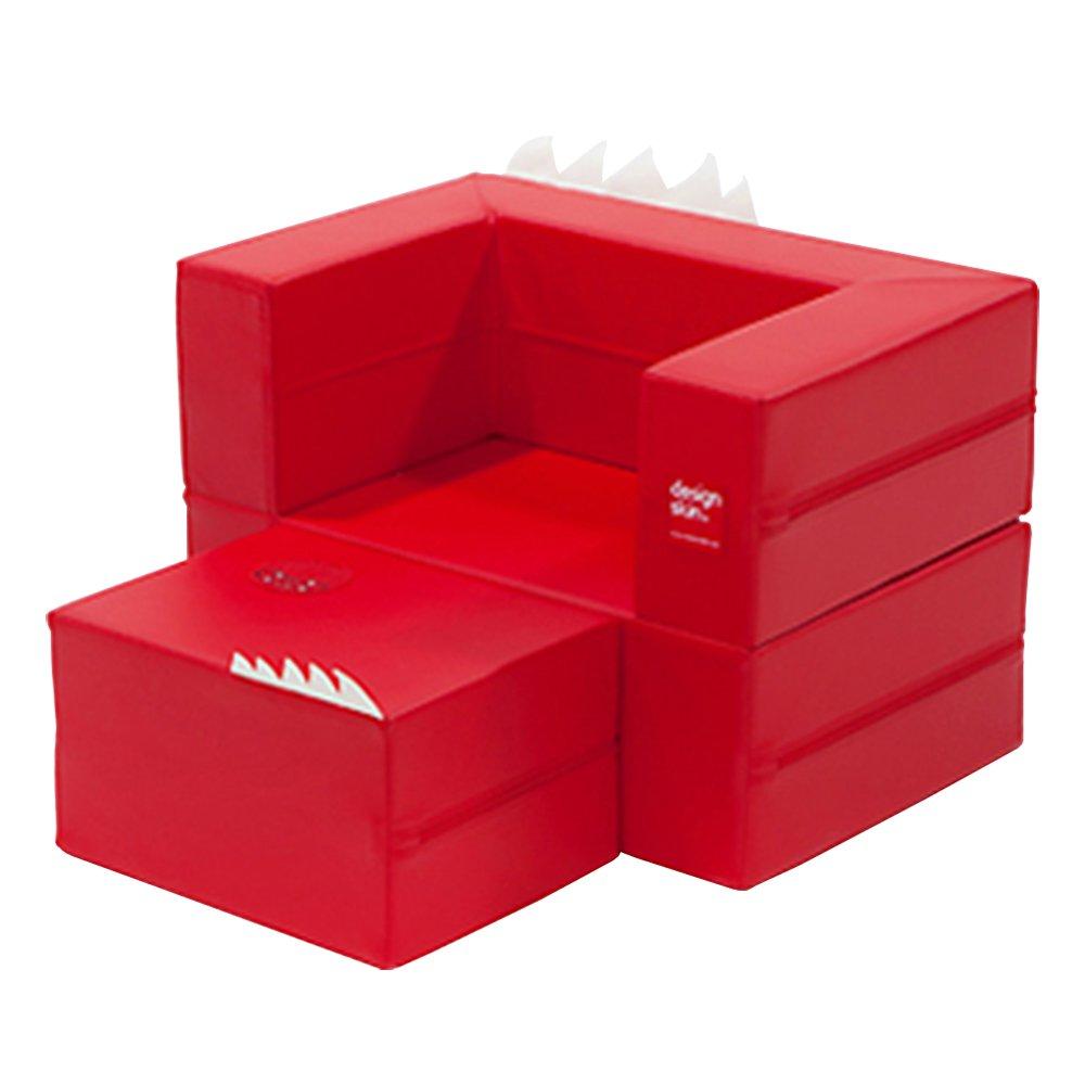 Design Skin Cake Sofa, Red