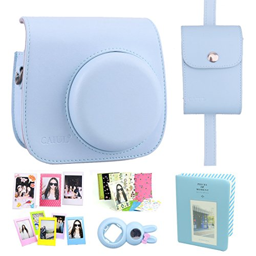 UPC 707918819716, CAIUL Fujifilm Instax Mini 8 Case Accessories Set Blue (7 Items)