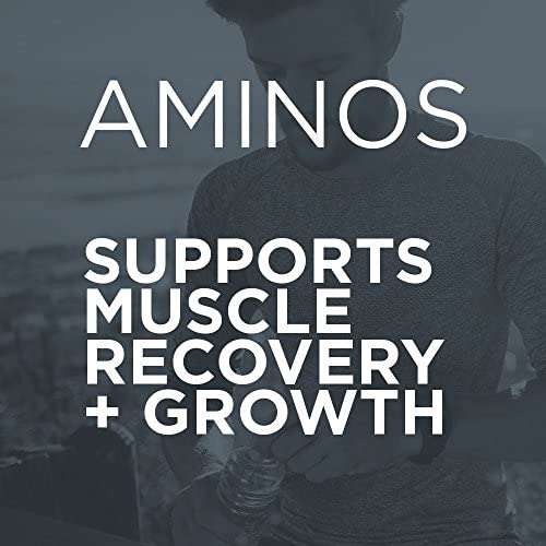 Purbolics Aminos Supports Muscle Recovery Growth 4g of Free-Form Amino Acids, Beta-Alanine, 0 Calories 60 Servings Sour Rainbow Candy