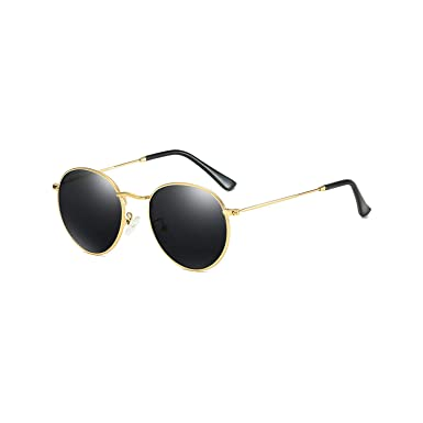 Gafas de sol deportivas, gafas de sol vintage, Retro Round ...