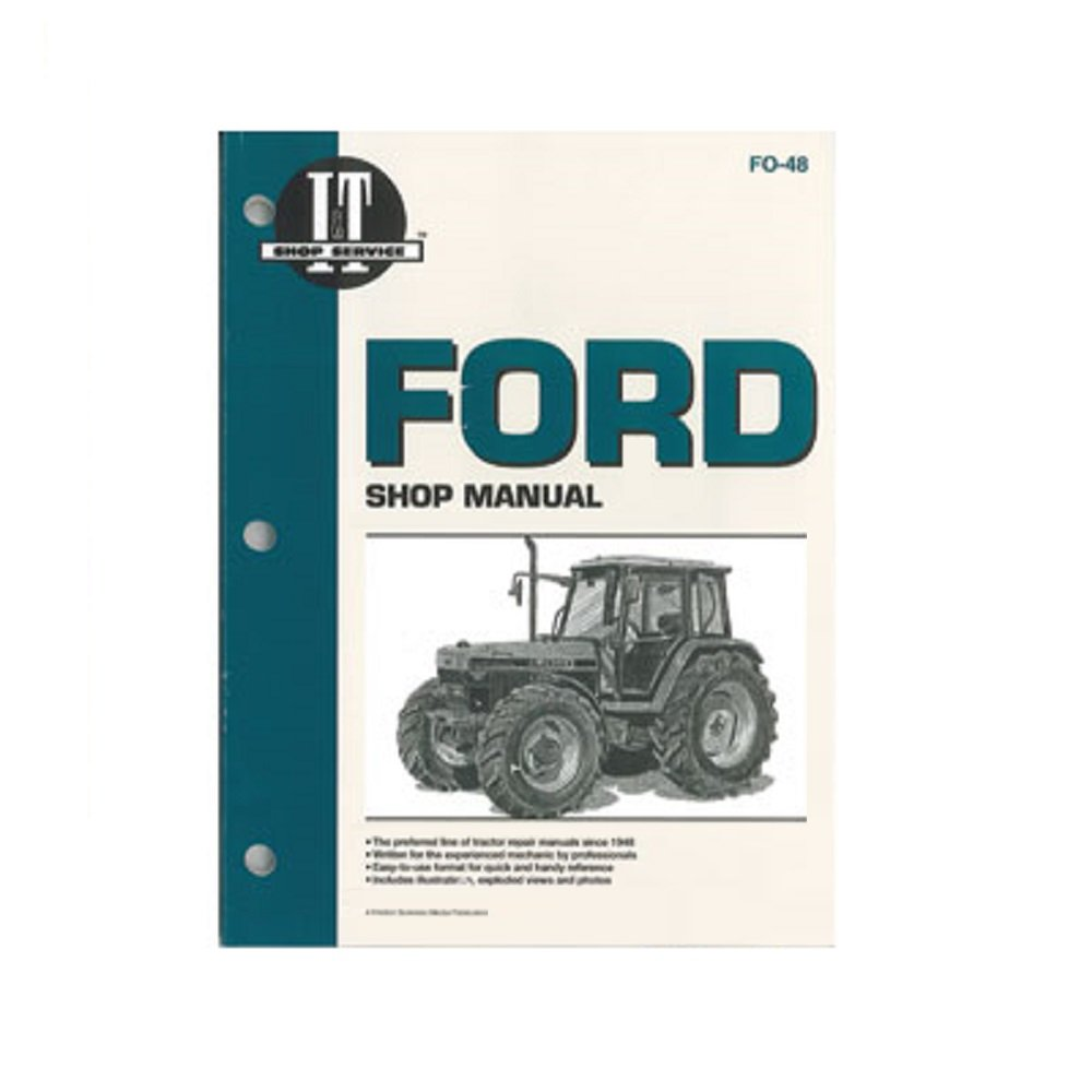FO48 New Ford/New Holland Tractor Shop Manual 5640 6640 7740 7840 8240  8340: Amazon.com: Industrial & Scientific