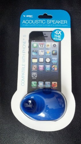 UPC 822248550020, Vibe Asoustic Portable Speaker for Iphone 5