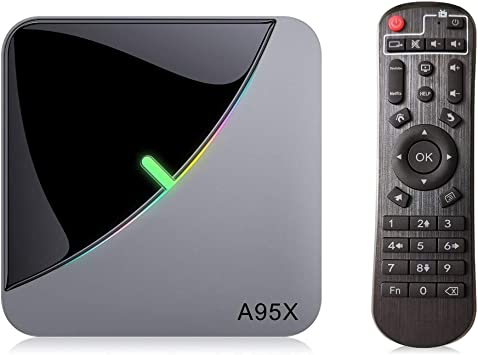 A95X F3 Air Android 9.0 TV Box, 4GB RAM 32GB ROM Smart TV Box with Amlogic S905X3 Quad-Core Cortex-A55 CPU, Support 2.4GHz/5GHz Dual WiFi /3D/8K/USB3.0: Amazon.es: Electrónica