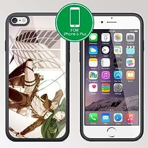 New for Attack on Titan Manga Anime Levi Apple iPhone 6 Plus 5.5