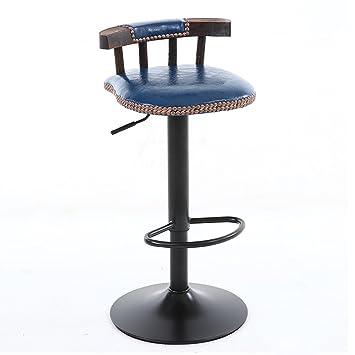 HBWJSH Chaise De Bar En Bois Massif Moderne Minimaliste Haute Tabouret Maison Tournant