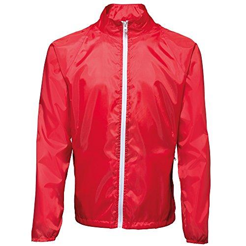 de 000 rojo blanco multicolor ligera 2786 chaqueta hombre de Chaqueta contraste qZUwTvX