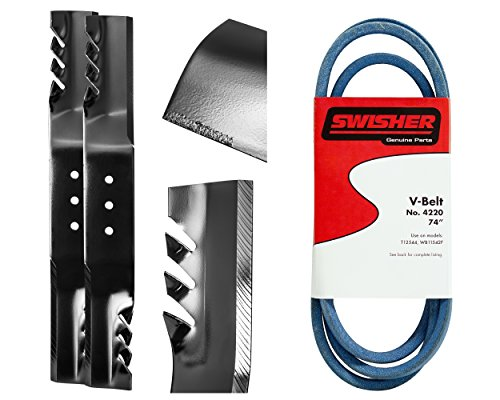 Swisher 21056 G6 Finish Cut Service Kit Replacement Parts, Black ()