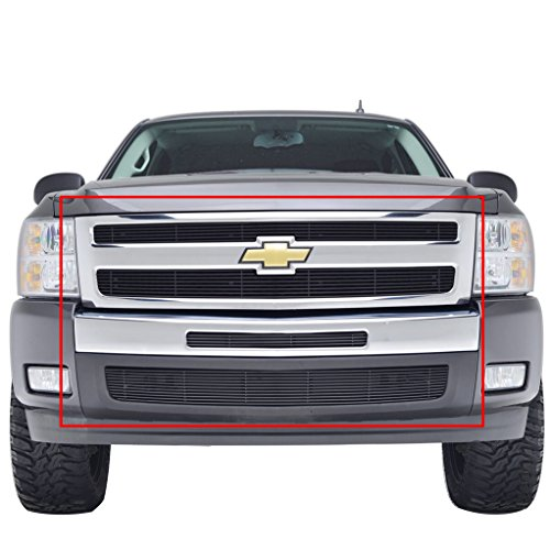 grille for chevy silverado 1500 2007 2013 4 wheel parts bumpers floor mats portable. Black Bedroom Furniture Sets. Home Design Ideas