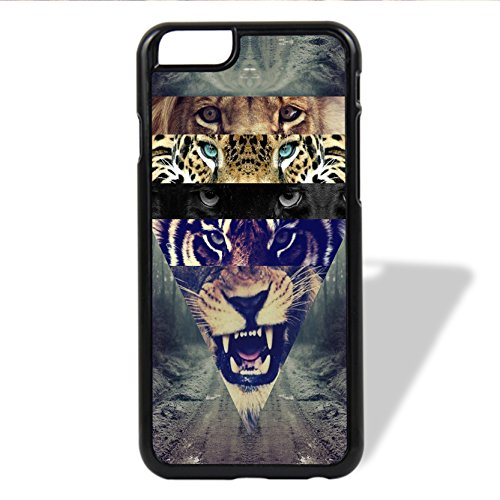 Coque,blanc Lion Collage Hipster Design Vintage Retro 6/6s Coque iphone Case Cover