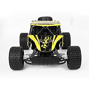 RC Cars,OXOQO 1:20 2.4Ghz High Speed Off-road Radio Remote Control Racing Car for Kids and Adults (UJ99-1815B, Yellow)