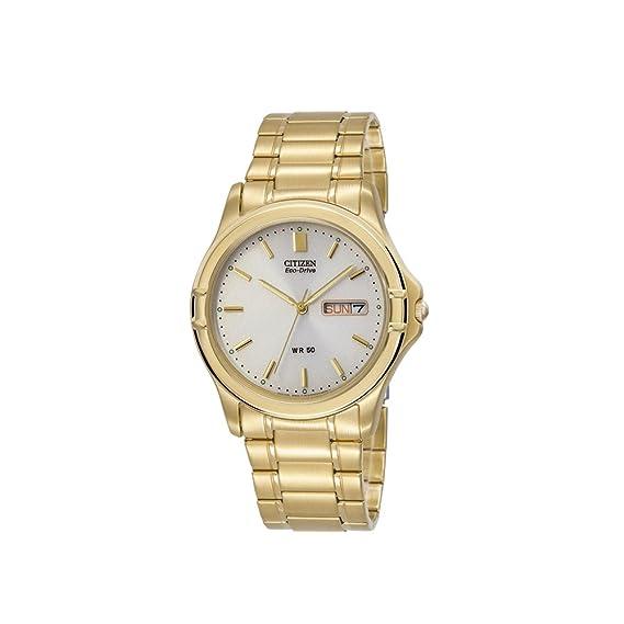 482b2e5f8b9b Citizen 60463 Reloj Clásico Análogo Eco-Drive para Hombre