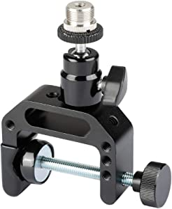 "CAMVATE Multiple-Use C-Clamp Desktop Holder with 5/8""-27 Ball Head Mount for Microphone"