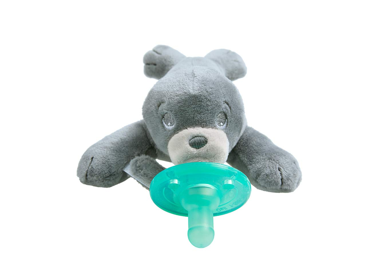 Philips Avent Soothie Snuggle Pacifier, 0-3 Months, Seal, SCF347/04