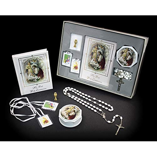 SF001 Catholic & Religious Gifts, First Communion Set Girl English by SF001