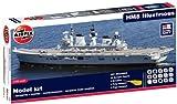 Airfix - Kit con pinturas, barco HMS Illustrious (Hornby A50059)