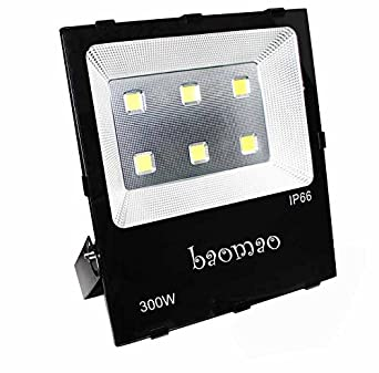 Baomao 300w super bright outdoor led flood lights 1500w halogen baomao 300w super bright outdoor led flood lights 1500w halogen bulb equivalent waterproof ip66 aloadofball Image collections